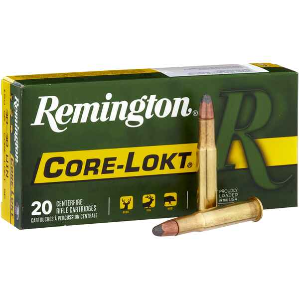 .30-30 Win., CoreLokt SP 150 grs., Remington