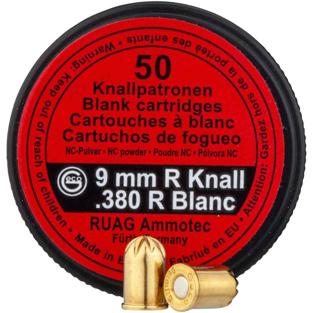 Knallpatronen 9 mm R, Geco