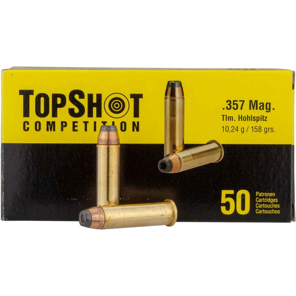 .357 Magnum Teilmantel HP 10,2g/158grs., TOPSHOT Competition