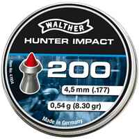 Diabolo Hunter Impact 4,5 mm 200 Stück, Walther