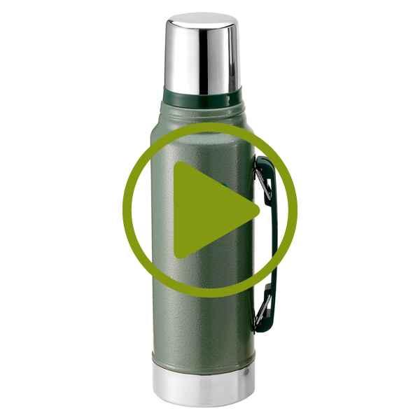 stanley isolierflasche stanley 1 l thermoskannen isoliergef e ausr stung outdoor online. Black Bedroom Furniture Sets. Home Design Ideas