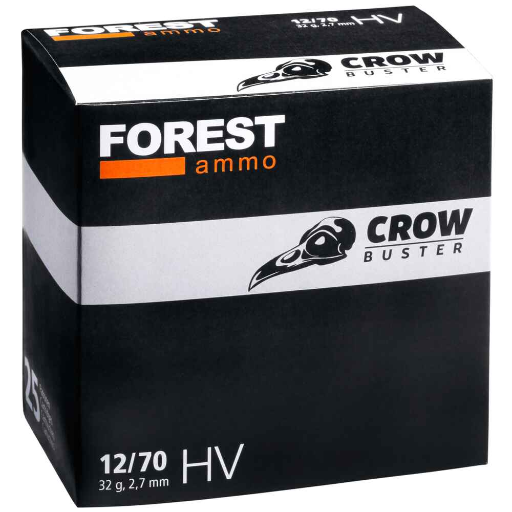 12/70 Crowbuster 2,7mm 32g, Forest Ammo