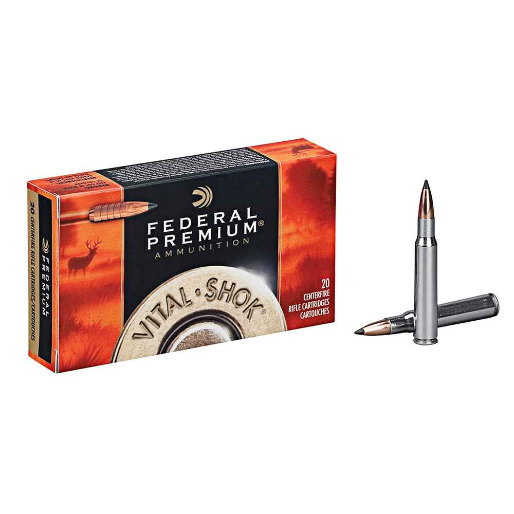 .308 Win. Trophy Copper bleifrei 165 grs., Federal Ammunition