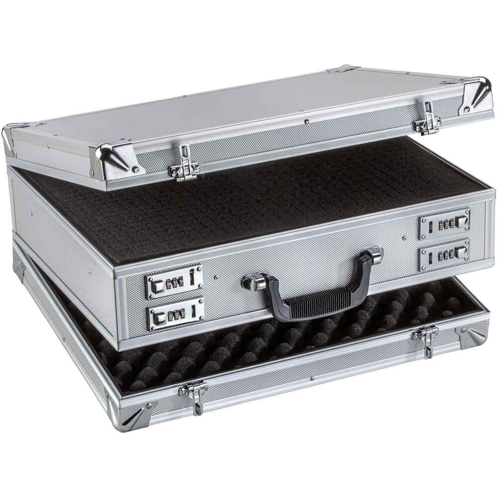 doppel kurzwaffenkoffer futterale koffer waffenzubeh r waffen online shop. Black Bedroom Furniture Sets. Home Design Ideas