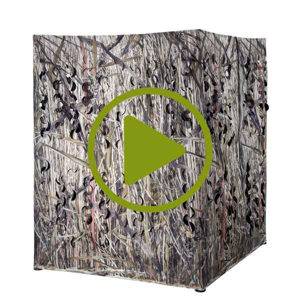 blind hunting jagdbedarf pop popup revierausstattung camo p up blinds