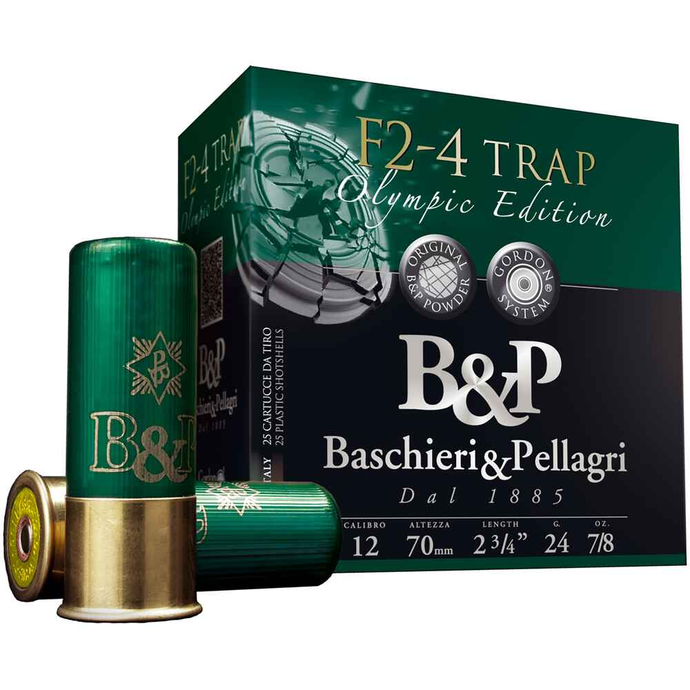 12/70 4 F2 Trap 2,4mm 24g , Baschieri & Pellagri