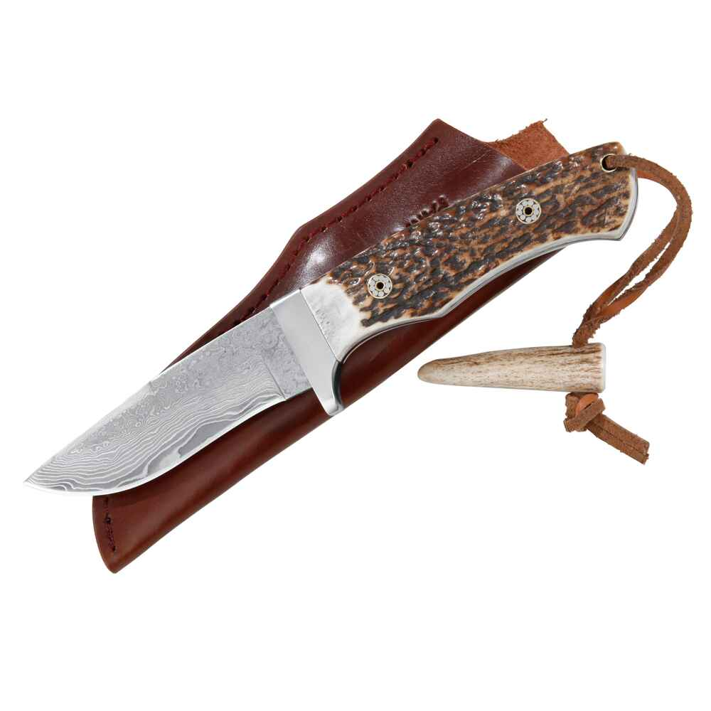 Damast-Jagdmesser Antler, Parforce