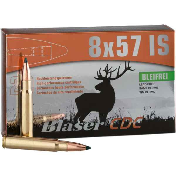 8x57 IS CDC 170 grs., Blaser