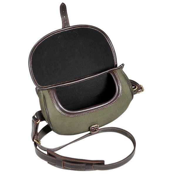 Jagdtasche Leder Canvas, Parforce
