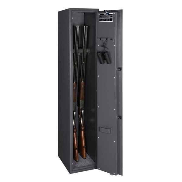 format waffenschrank 103 e f r 3 langwaffen ausf hrung graphitgrau rechtsanschlag. Black Bedroom Furniture Sets. Home Design Ideas