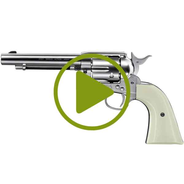 CO2 Revolver Army 45 Nickel, Colt