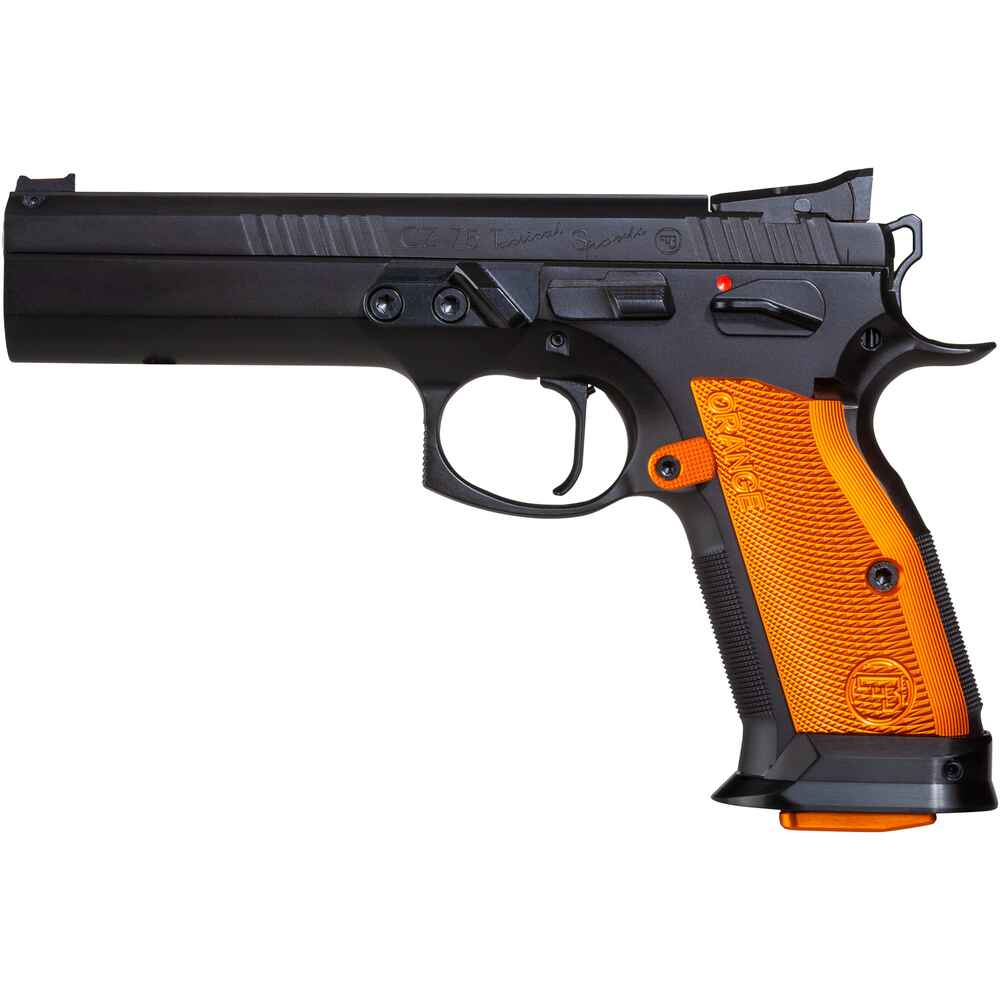 cz pistole cz 75 tactical sports orange kaliber 9 mm. Black Bedroom Furniture Sets. Home Design Ideas