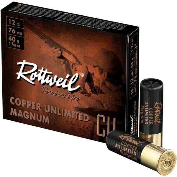 12/76 Copper Unlimited Magnum 3,25mm 40g, Rottweil