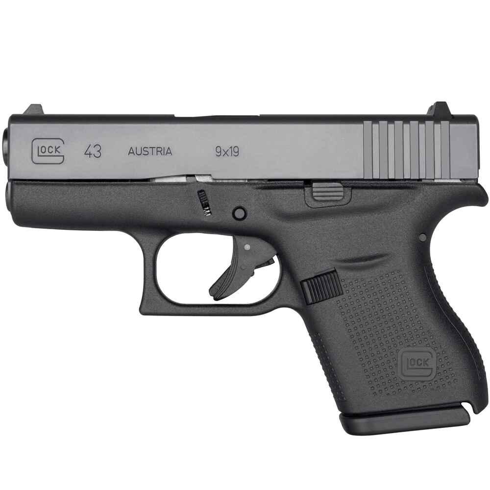 glock pistole glock 43 adj kaliber 9 mm luger. Black Bedroom Furniture Sets. Home Design Ideas