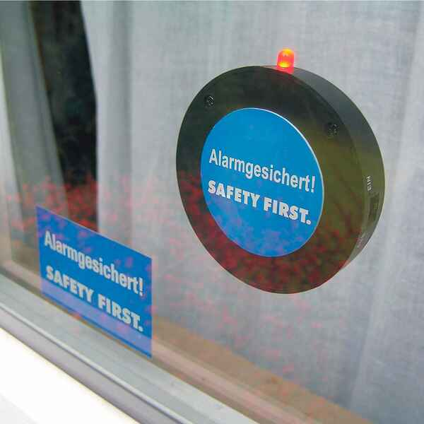 Glasbruchalarm 120 dB, KH-Security