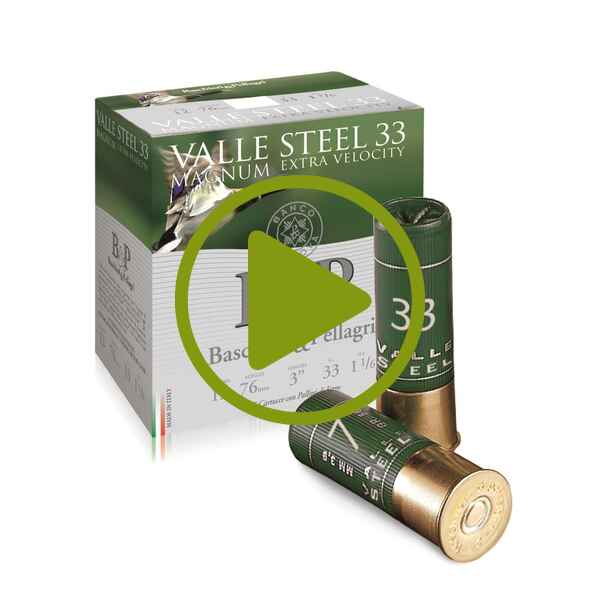 12/76 Valle Stee 33 l HV 3,5mm 33g , Baschieri & Pellagri