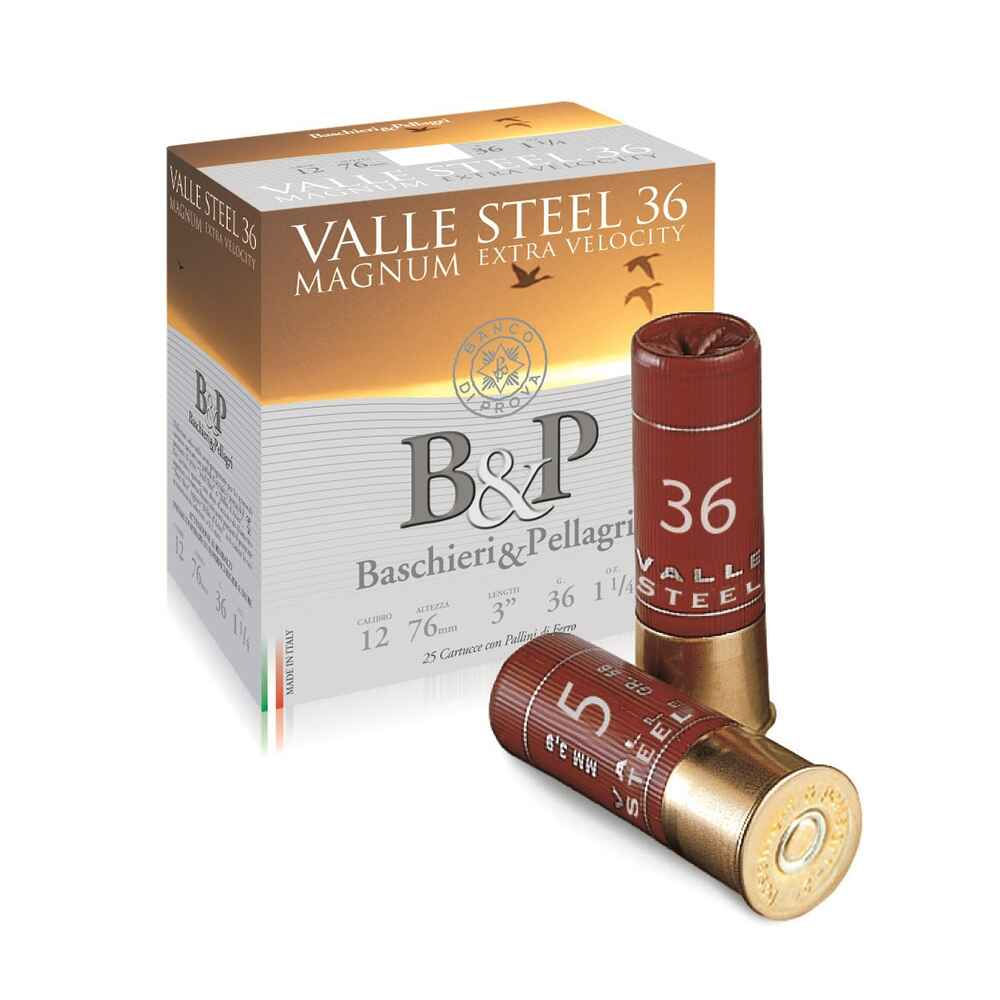 Valle Magnum Steel HV 12/76 36 g 4,1 mm, Baschieri & Pellagri
