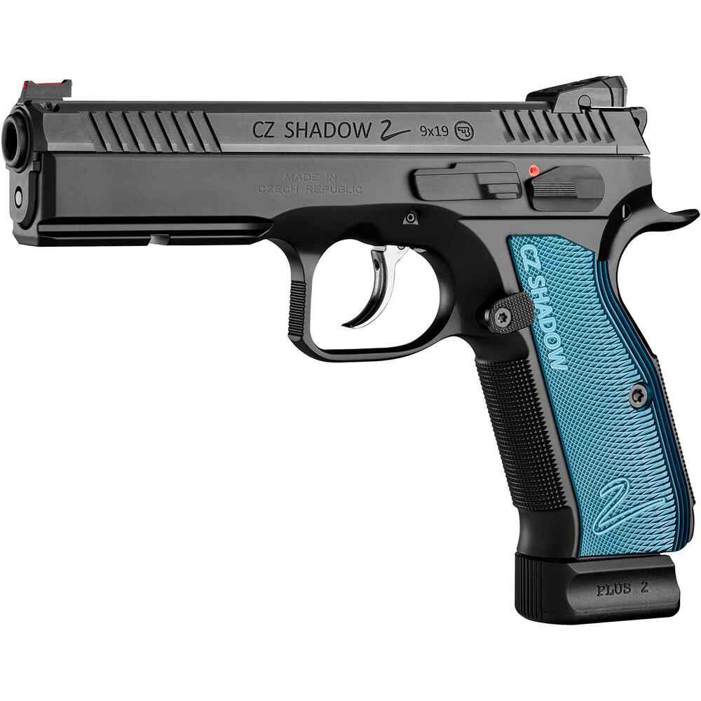 cz pistole cz 75 sp 01 shadow ii blau pistolen. Black Bedroom Furniture Sets. Home Design Ideas