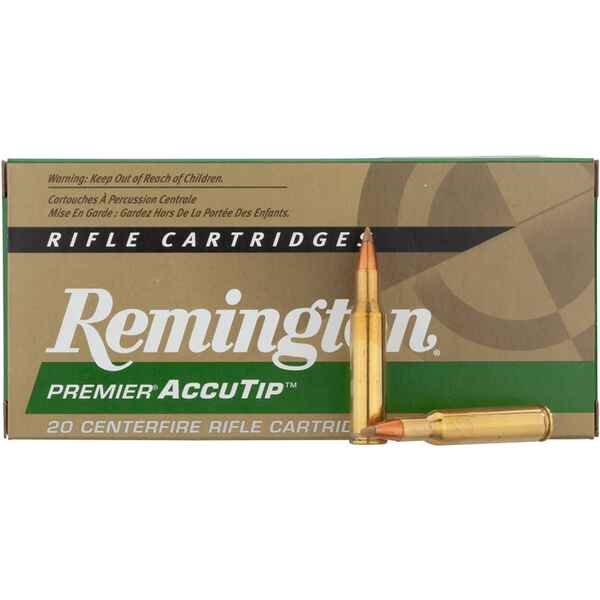.270 Win. Accu Tip-V BT 130grs., Remington