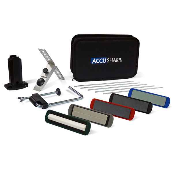 Knife sharpening set, Accusharp Precision, 5 stones, Accusharp