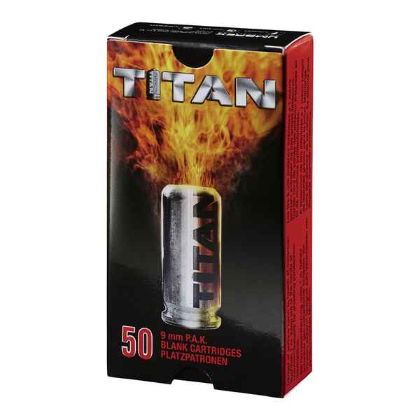 Knallpatronen Titan 9 mm P.A., Perfecta