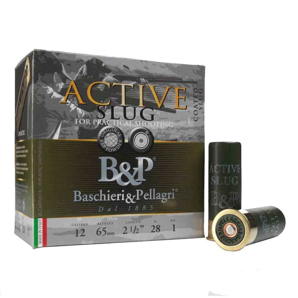F2 Active Slug 12/65 28g, Baschieri & Pellagri