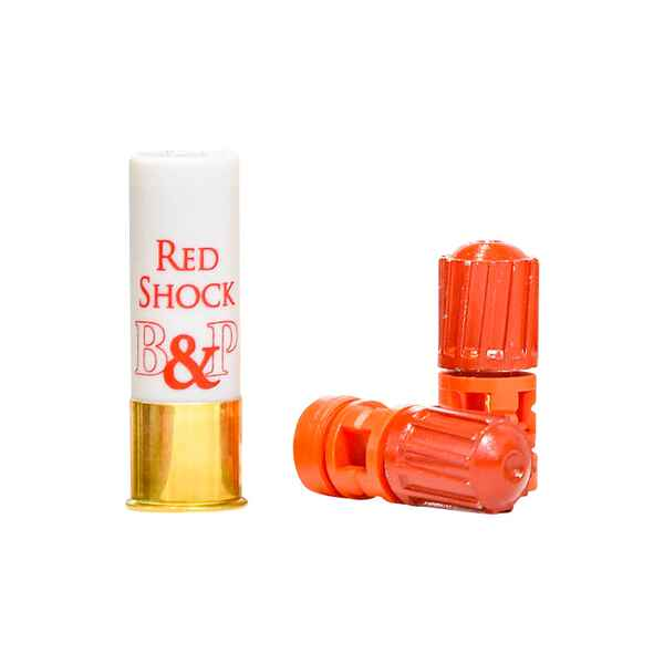 Flintenlaufpatronen Red Shock 12/70, 35,5 g, Baschieri & Pellagri
