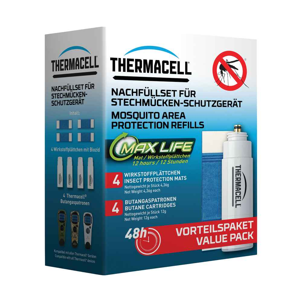 Nachfüllpack Long Life 48 Stunden, THERMACELL