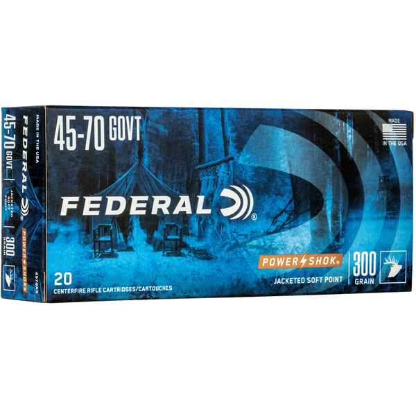 .45-70 Gov. TLM FK 300 grs., Federal Ammunition