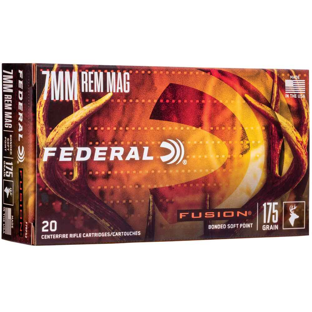 7 mm Rem. Mag. Fusion 175 grs., Federal Ammunition