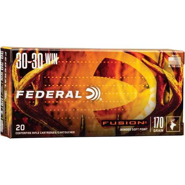 .30-30 Win. Fusion 170 grs., Federal Ammunition