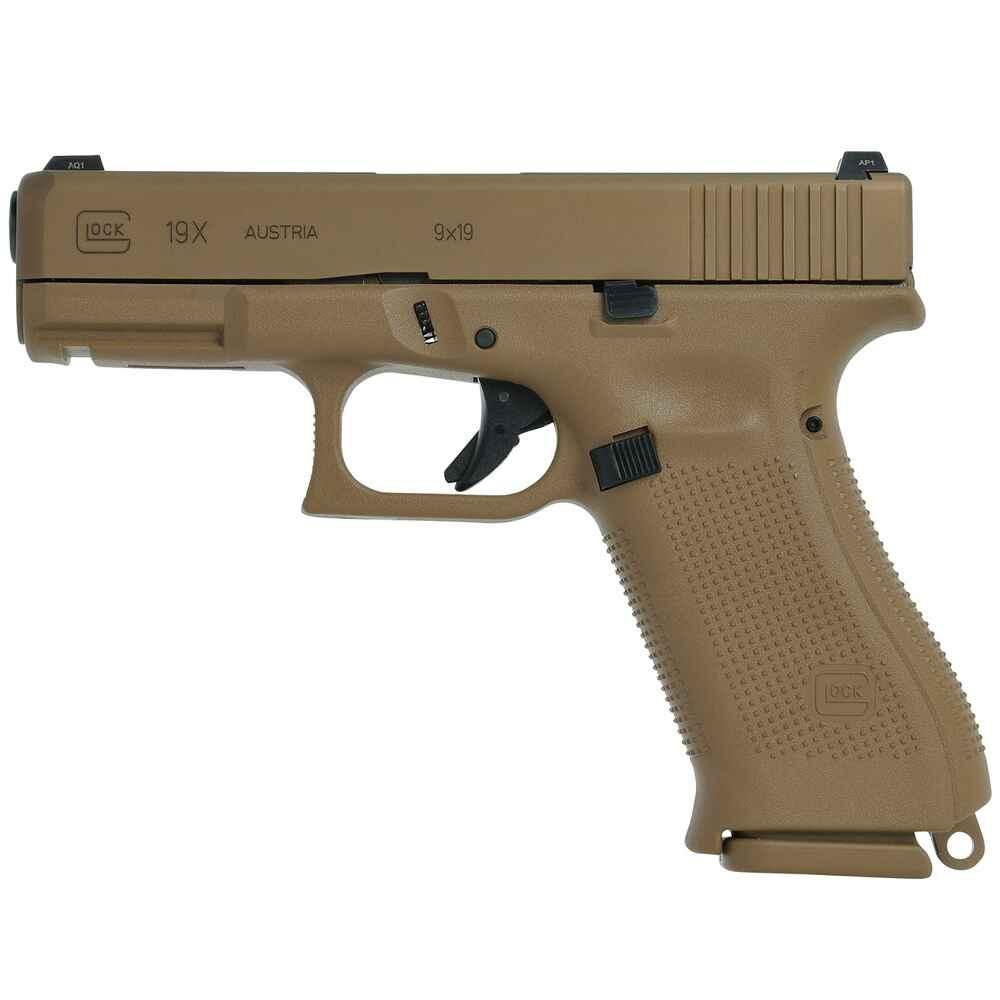 Glock Pistole Glock 19 X - Pistolen - Kurzwaffen - Sportwaffen ...