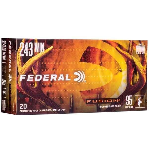 .243 Win. Fusion 6,2g/95grs., Federal Ammunition