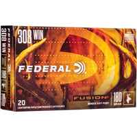 .308 Win. Fusion Int. 11,7g/180grs., Federal Ammunition