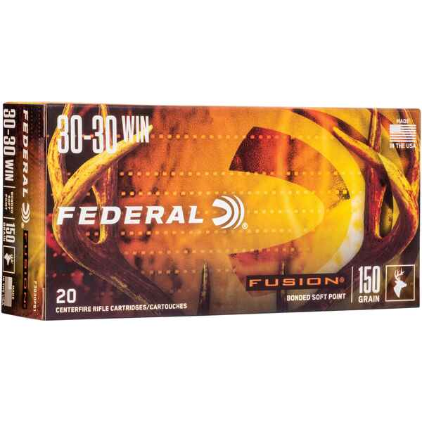 .30-30 Win. Fusion 9,7g/150grs., Federal Ammunition
