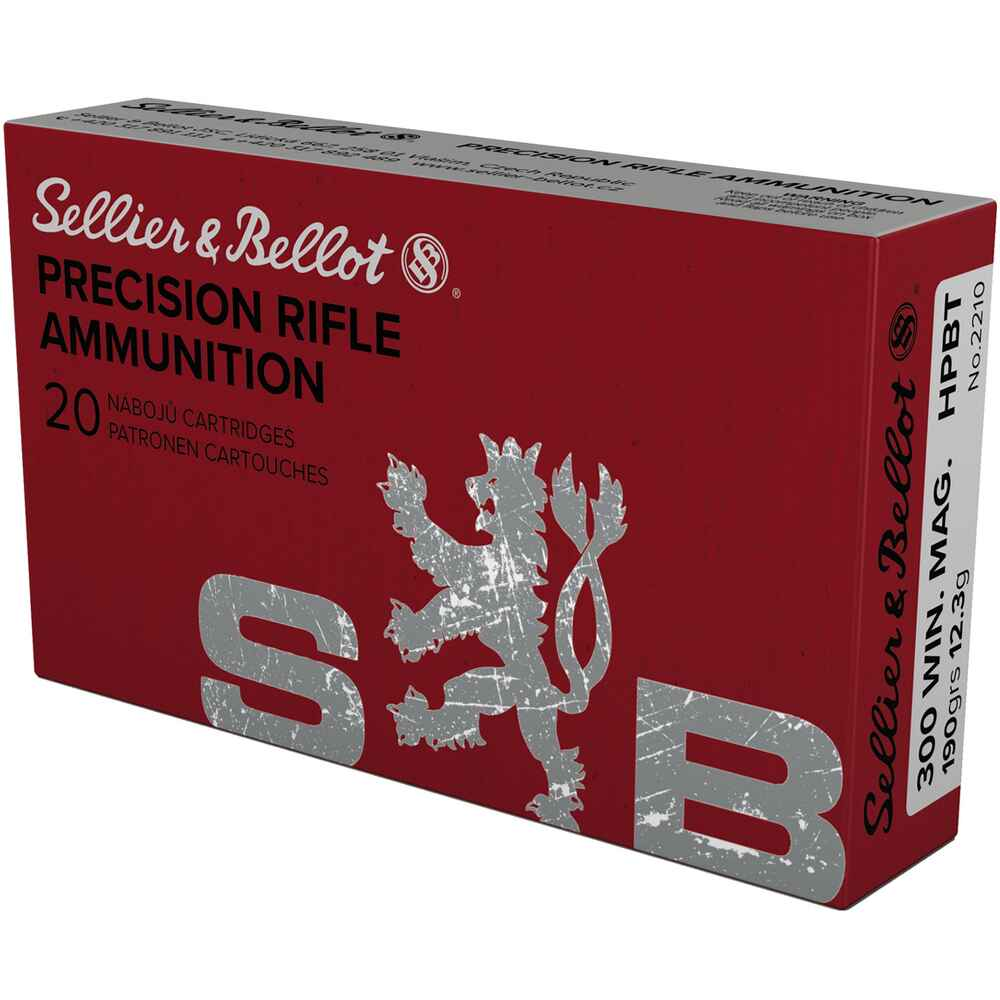 .300 Win. Mag. Sierra-Match 12,3g/190grs., Sellier & Bellot