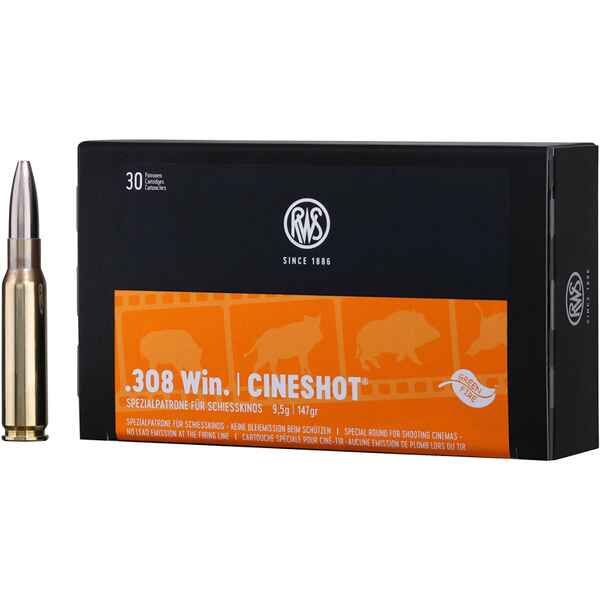 .308 Win. Cineshot 147 grs., RWS