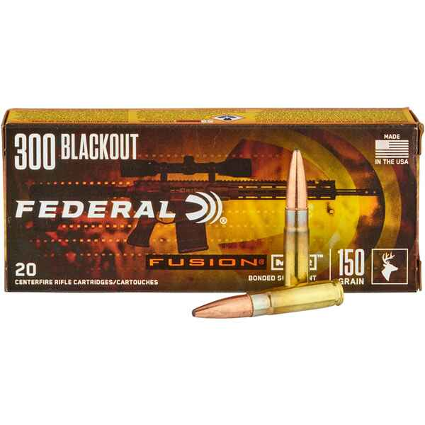 .300 AAC Blackout Fusion 9,7g/150grs., Federal Ammunition