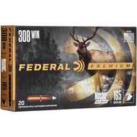 .308 Win. Premium Nosler Accubond 165 grs. , Federal Ammunition