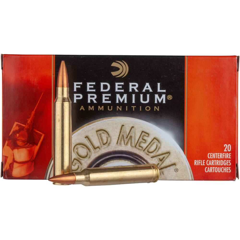 .300 Win. Mag. Premium Gold Medal Sierra Match King 11,7g/180grs., Federal Ammunition