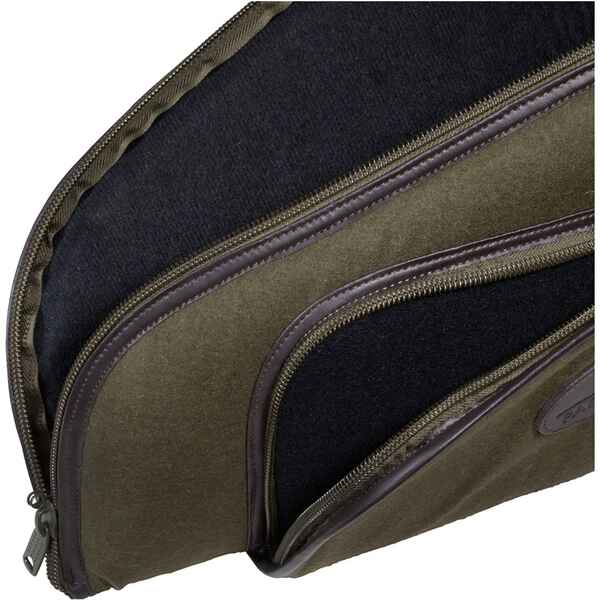 Langwaffenfutteral Luxury Loden/Leder, Parforce