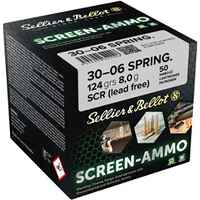 .30-06 Spr. Screen-Ammo SCR Zink 8,0g/124grs, Sellier & Bellot