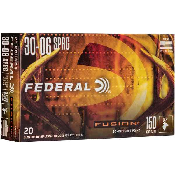 .30-06 Spr. Fusion 150 grs., Federal Ammunition