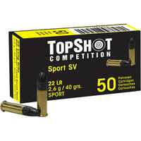 .22 lfb. Black Edition SV 2,6g/40grs., TOPSHOT Competition