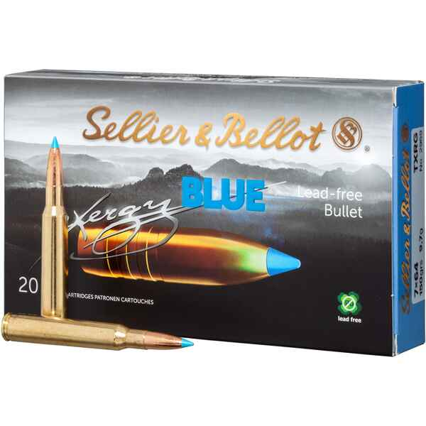 7x64 TXRG blue 9,7g/150grs., Sellier & Bellot