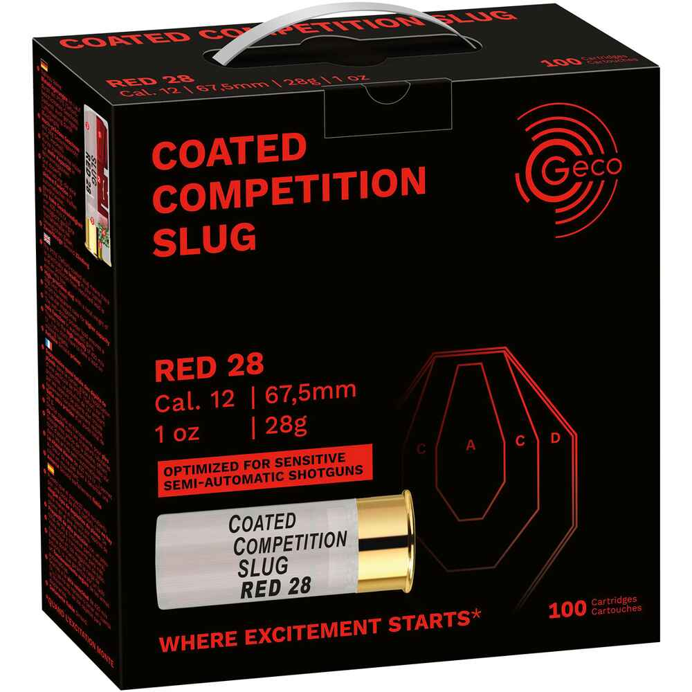 12/67,5  Competition Slug Red  28 g, Geco