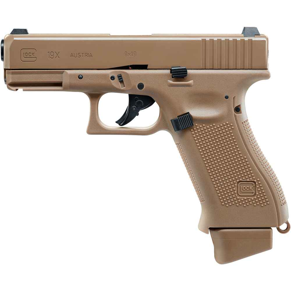 Airsoft Pistole 19X Coyote, Glock