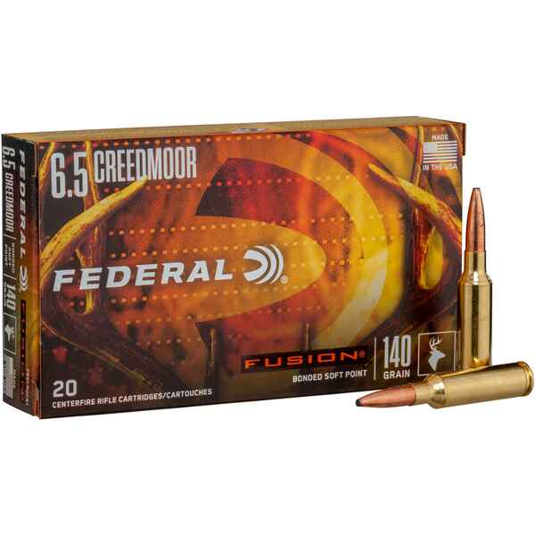 6,5 Creedmoor 9,1g/140grs., Federal Ammunition