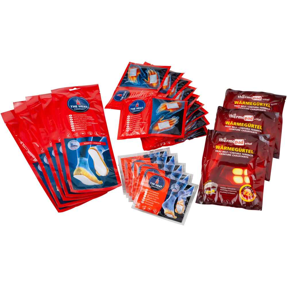 Starter-Set Wärmepads – 23-teilig, The Heat Company