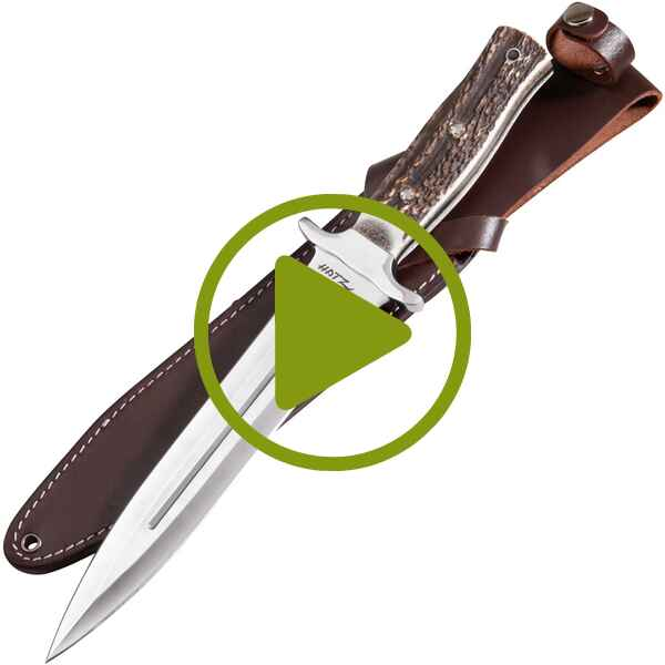 Messer & Gürtel Hatz-Watz Boar Hunter voller Flacherl, Parforce